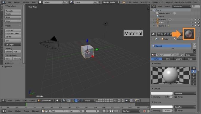 Properties-Material